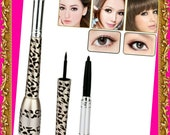 2 in 1 Waterproof Black Liquid Eyeliner and Pencil
