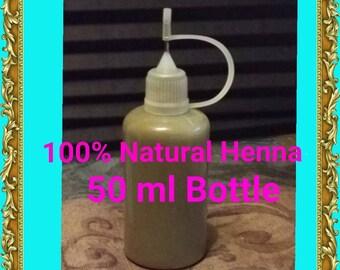 Henna tattoo kit etsy ready to use 100 natural organic henna with needle tip applicator bottle 50 ml solutioingenieria Gallery