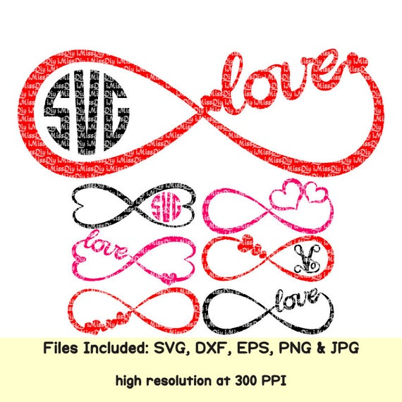 Wedding Infinity Symbol Svg Heart Love Svg Marriage Signs