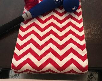 Red Tablecloth   BaseBall Tablecloth