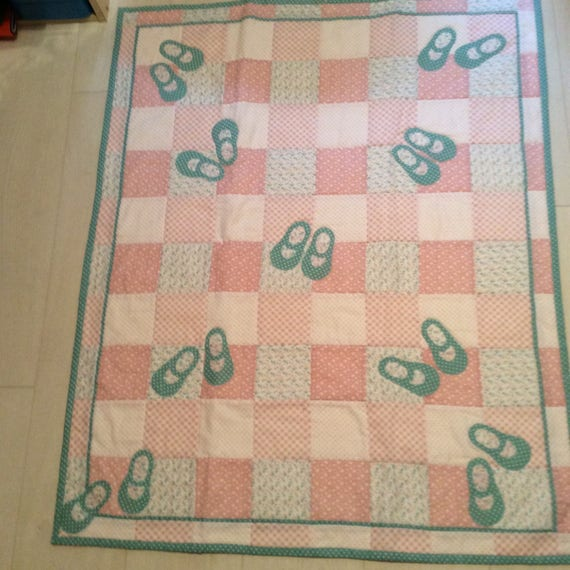 Dolly shoe quilt