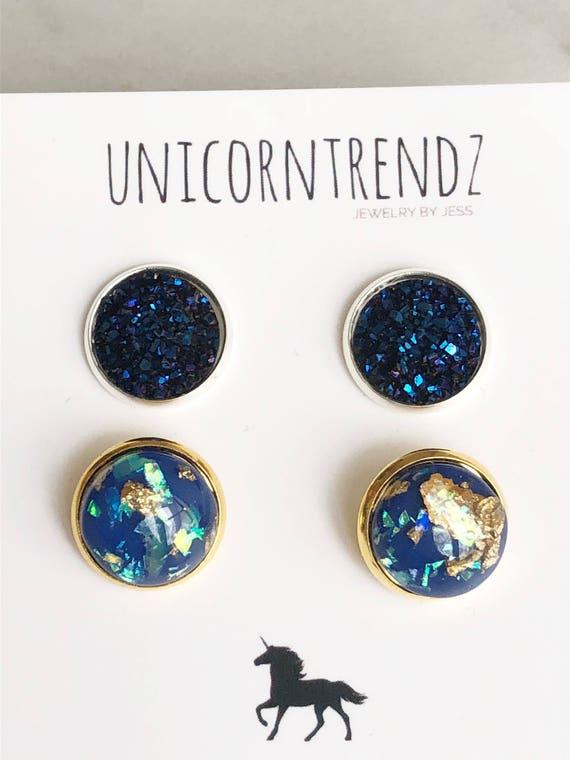 Dark Blue Jewelry