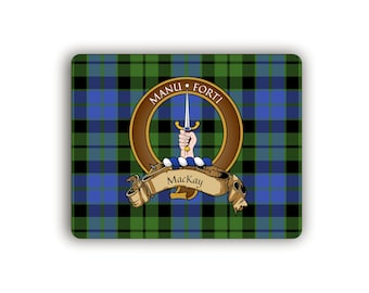 MacKay Scottish Clan Crest Computer Mouse Pad
