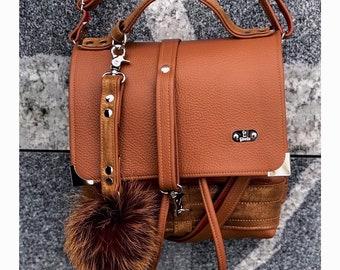 PRESTIGE BAG Medium (Rustic Orange)