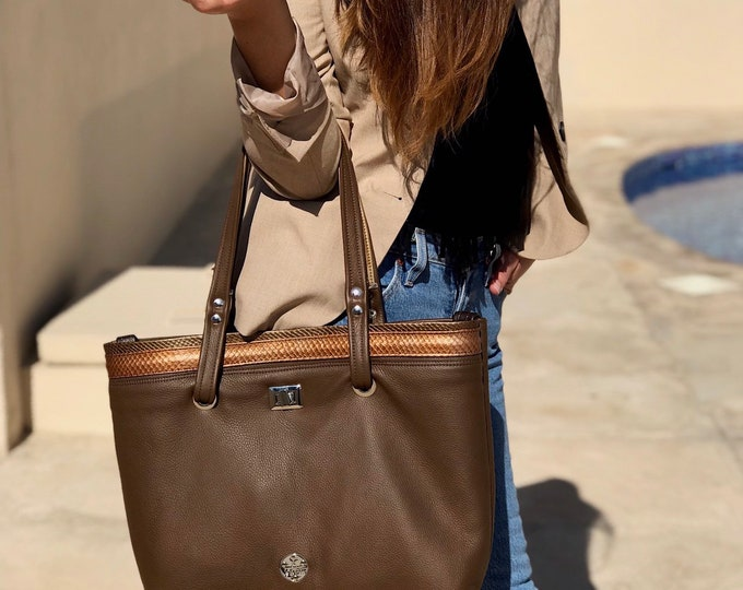 IT BAG (Spiced Brown)