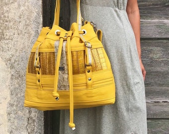 BUCKET BAG Big (BumbleBee)