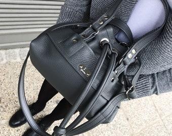 85 eur - 10%! BUCKET BAG Petite (Steel)