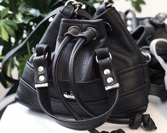 85 eur - 10%! BUCKET BAG Petite (Anthracite)
