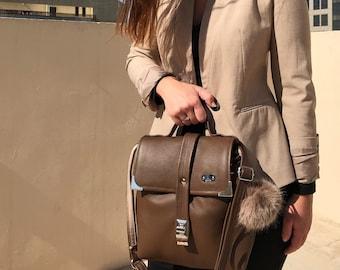 93 eur - 30 % ! TIMELESS BAG (Cinnamon)