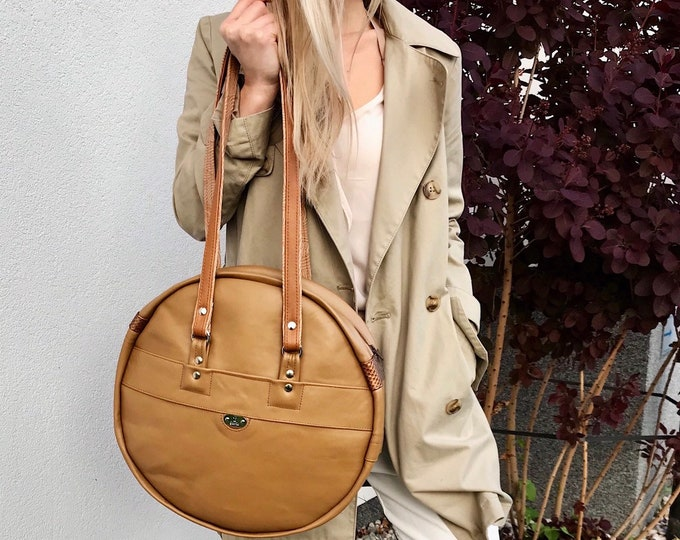 MOON BAG (Camel)
