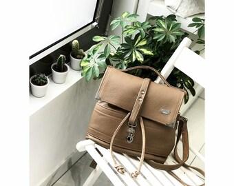 PRESTIGE BAG Medium (Ash Brown)