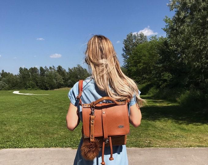 144 eur - 20%! PRESTIGE BAG Medium (Rustic Orange)