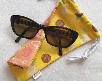Pouch for storage cases, sunglasses, purse, sunglasses, case for sunglasses