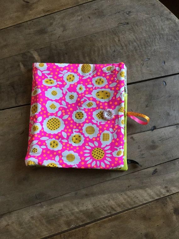 Dress handkerchief with nomadic design