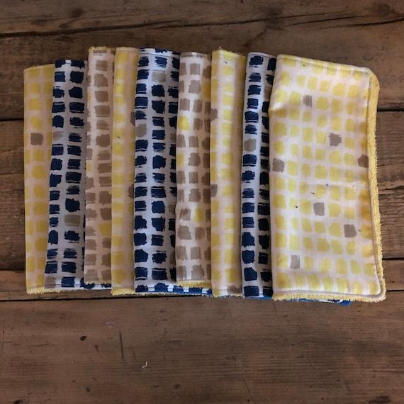 Lot de carrés éponge et coton