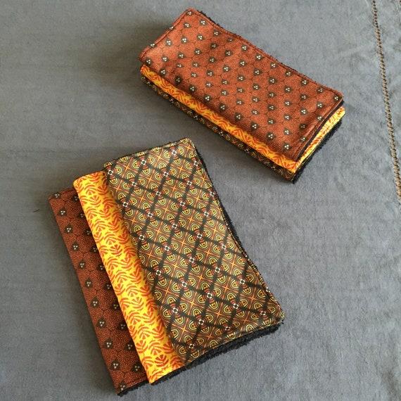 Set of square sponge and cotton