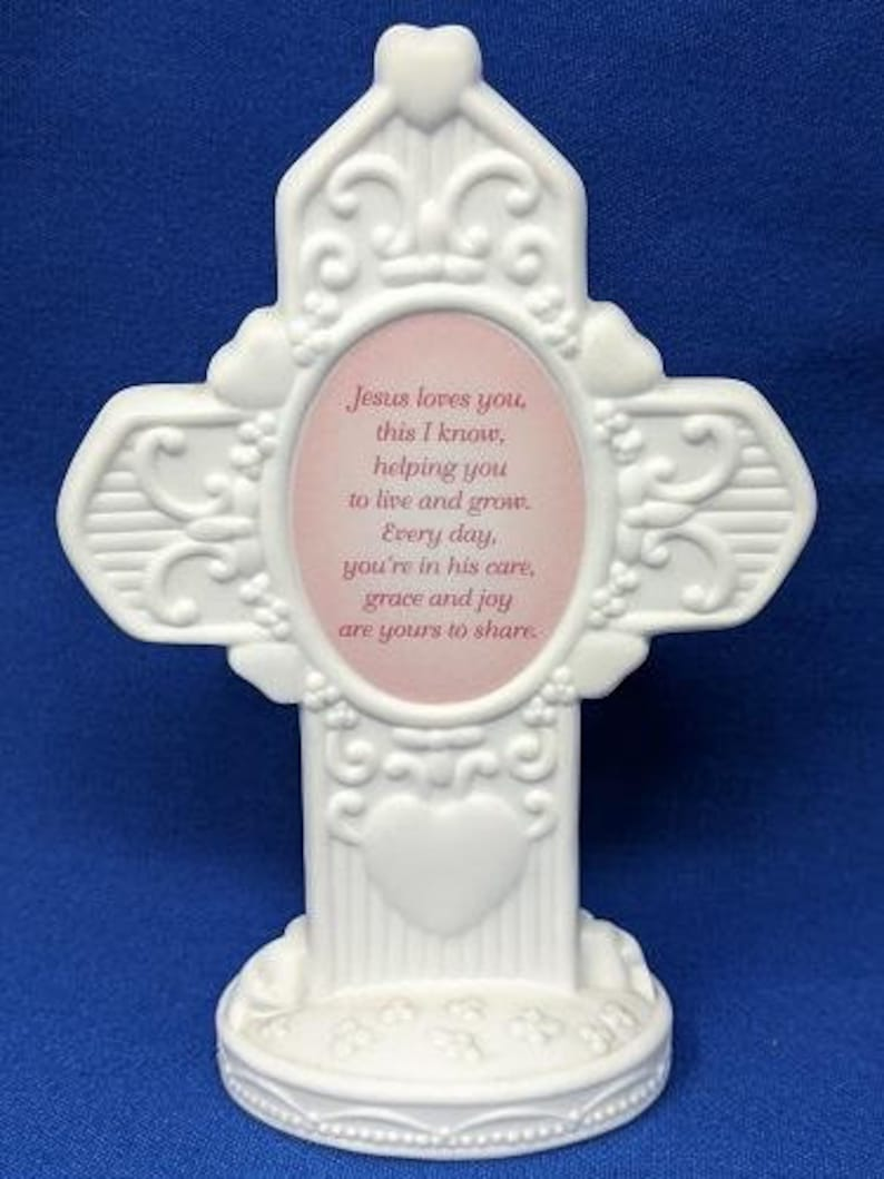 Precious Moments Daughter Jesus Loves You Cross