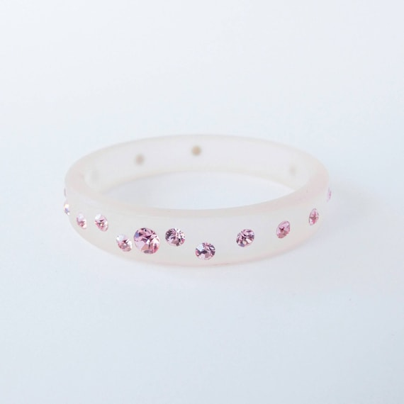 GTie ; Diamonte Pink Round