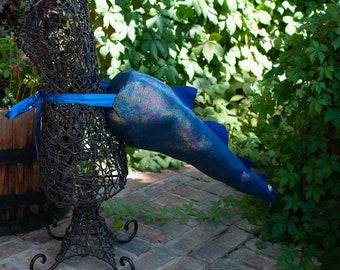 "22"" Shiny Blue and Purple Dragon Tail"