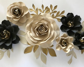 Paper flowers etsy paper flowers paper flower backdropwedding decoration home decor nursery decoration wedding flowers bridal shower baby shower mightylinksfo