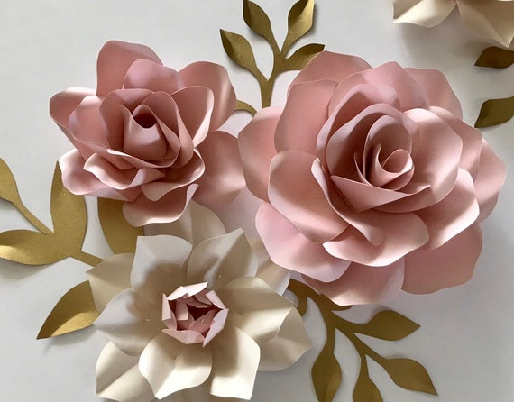ScottDecor Pink and White Aquarium 3D Backdrops Florist Theme with Lilies Close Up A Fresh Bouquet for The Loved Ones Decals Poster Pink Orange Green