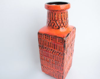 classicer colourfull vase from Bay this vase is from the sixties and has the number 298-17. Germany
