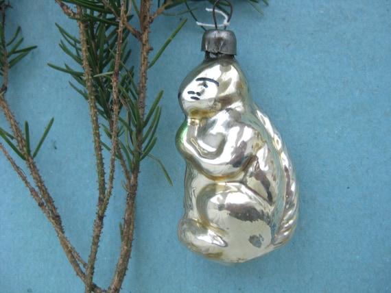 Russische Eichhörnchen antike Weihnachtsschmuck sowjetischen   Etsy