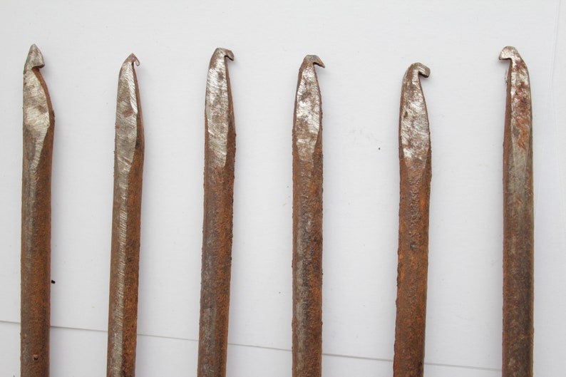 Vintage Rustic handmade fish harpoon gig spear  antique