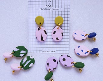 Dora Polymer Clay Earrings