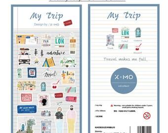 Stickerset von x-mo - My Trip