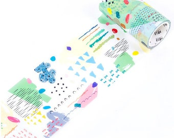 Washi Tape  - Strokes and Dots 1