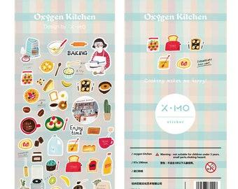 Stickerset von x-mo - Oxygen Kitchen