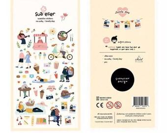Stickerset von Suatelier - lovely day