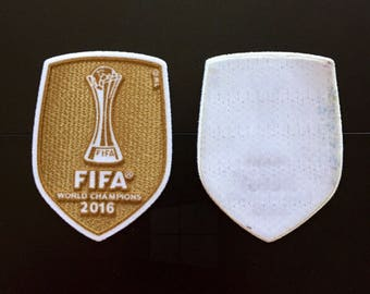 f20275ee3 2014 2016 FIFA World Champions Soccer Iron on Embroidered Patch Appliqué