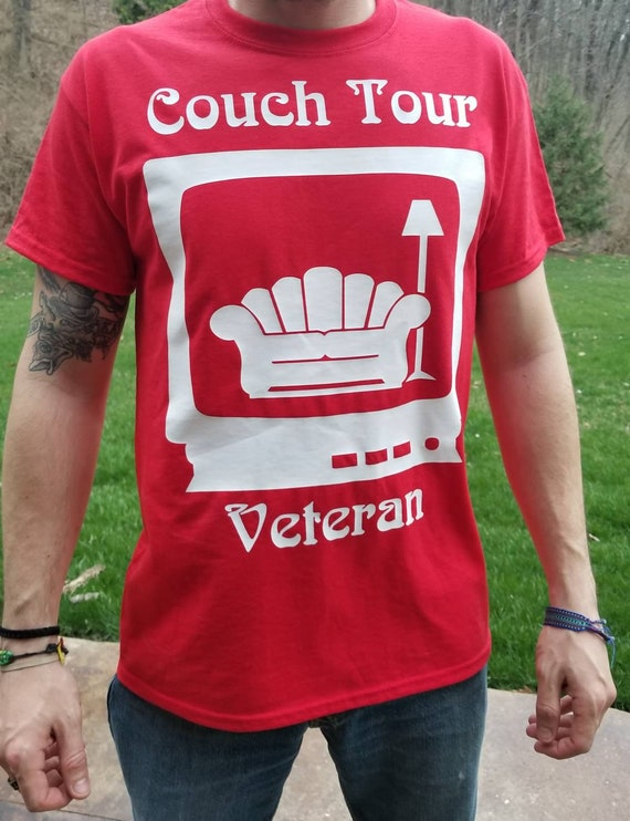 Astounding Couch Tour Veteran Tee Shirt Caraccident5 Cool Chair Designs And Ideas Caraccident5Info