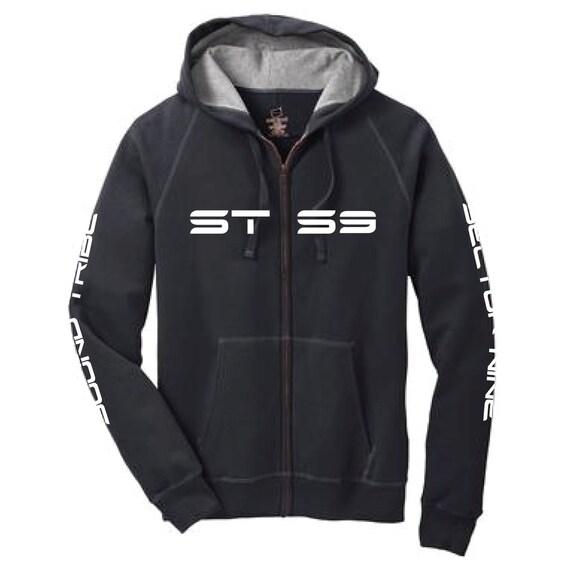 STS9 4 print zip up hoodie PVizrSTzi1