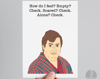 Peep Show Card Etsy