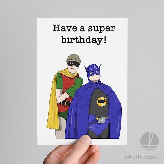 Del Jongen Rodney Trotter Batman En Robin Verjaardag Etsy