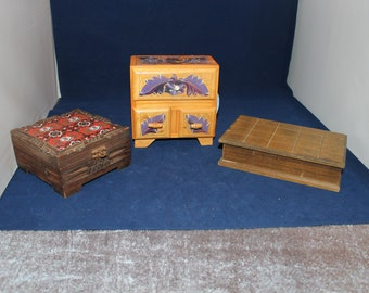 Mr Paddington Bear Vintage Style Handmade Wooden Storage Box With Ornate  Handle Antiques Reproduction Boxes/chests