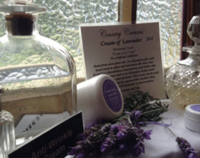 Lavender Face & Body Cream Moisturizer, Natural Skincare from New Zealand, Organic Skin Care