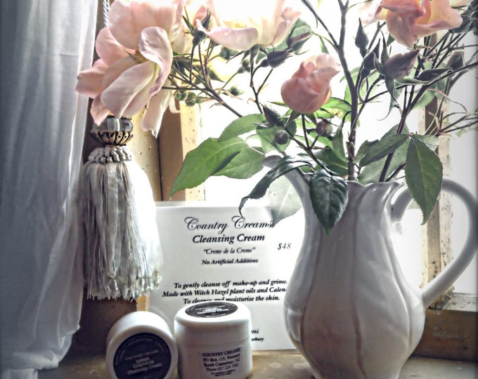 "Natural ""Cleansing Cream"" with Calendula & Lemon, Natural Skincare from New Zealand, Organic Skin Care"