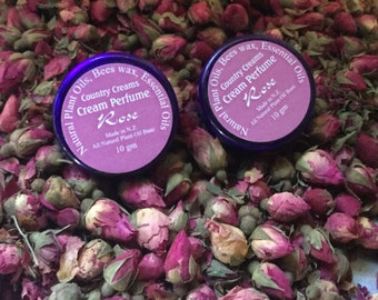 Cream Perfume, Natural Skincare, Organic Skin Care, Natural Perfume.