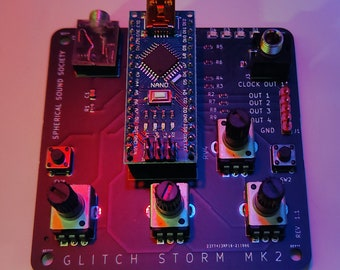 Glitch Storm Multidimensional DIY Synth MKII (Fully assembled)