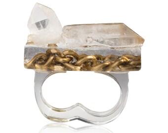 Manifest Bar Ring