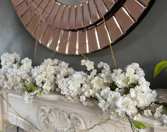 Absolutely stunning faux cherry blossom garland 120cms