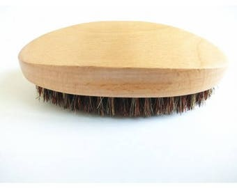 Custom Engraved Boar Bristle Beard Brush, Beard Brush, Custom Beard Brush