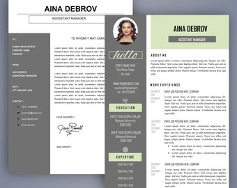 Simple Resume Bundle Resume Templates For Ms Word Etsy