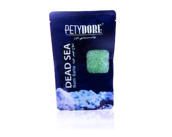 Natural Dead sea bath salt - Menthol scent
