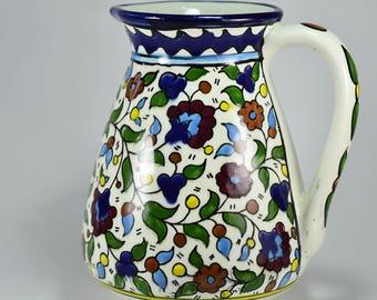 Hebron Ceramic Pitcher