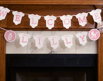 Custom Personalized Baby Shower Banner